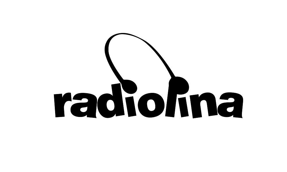 ADJ-1000×600 – Logo Radiolina Bianco e Nero